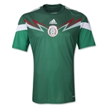 Mexico 2014 Jersey de Futbol Local Autentico