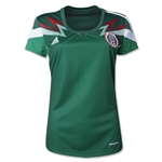 Mexico 2014 Jersey de Futbol Local Femenil