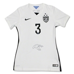 Christie Rampone Signed Nike 3 Star White Team USA Jersey