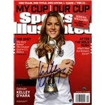 Kelley O' Hara Signed 2015 Women's World Cup Sports Illustrated Magazine