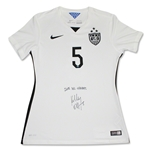 Kelley O' Hara Signed Nike 3 Star White Team USA Jersey