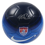 Megan Rapinoe Signed Team USA Blue Soccer Ball