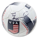Tim Howard Signed Team USA Flag Soccer Ball w/ USA