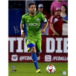 Clint Dempsey Signed Seattle Sounders Sprinting 16x20 Print
