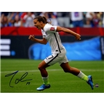 Tobin Heath Signed 2015 World Cup 8x10 Photo
