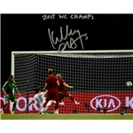 Kelley O'Hara Signed Team USA 2015 Women's World Cup Goal