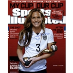 Christie Rampone Signed 2015 World Cup Sports Illustrated Magazine