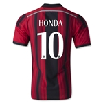 AC Milan 14/15 HONDA Authentic Home Soccer Jersey