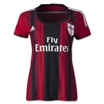 AC Milan 14/15 Jersey de Futbol Local Femenil