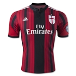 AC Milan 14/15 UCL Home Soccer Jersey