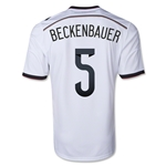 Germany 2014 BECKENBAUER Home Soccer Jersey