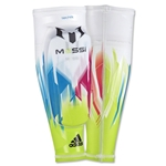 adidas F50 Pro Lite Messi Shinguard (White/Solar Blue)
