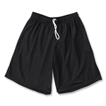 Yale 9 Mini Mesh LAX Shorts (Black)