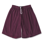 Yale 9 Mini Mesh LAX Shorts (Maroon)
