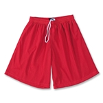 Yale 9 Mini Mesh LAX Shorts (Red)