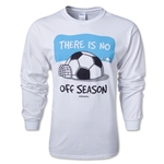 No Off Season LS T-Shirt (White)