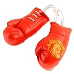 Manchester United Boxing Gloves Car Hanger