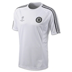 Chelsea 13/14 Europe Training Jersey (White)