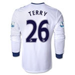 Chelsea 13/14 26 TERRY LS Away Soccer Jersey