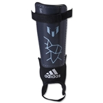 adidas Messi 10 Youth Shinguard (Night Gray/Matt Ice)