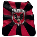 DC United Raschel Throw Blanket
