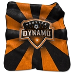Houston Dynamo Raschel Throw Blanket