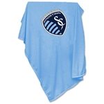 Sporting Kansas City Sweatshirt Sky Blue Blanket