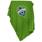 Seattle Sounders Sweatshirt Blanket