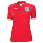 England 10/11 Away Women's Soccer Shirt
