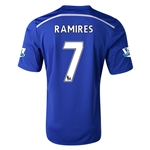 Chelsea 14/15  7 RAMIRES Home Soccer Jersey