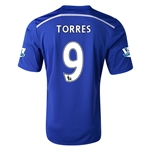 Chelsea 14/15  9 TORRES Home Soccer Jersey