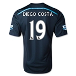 Chelsea 14/15 19 DIEGO COSTA Third Soccer Jersey