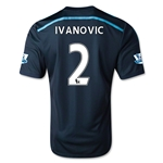 Chelsea 14/15  2 IVANOVIC Third Soccer Jersey