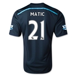 Chelsea 14/15 21 MATIC Third Soccer Jersey