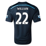 Chelsea 14/15 WILLIAN Third Soccer Jersey