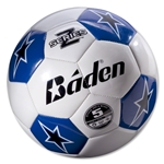 Baden Z-Series Training Soccer Ball (White/Royal)