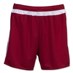 adidas Women's MLS 15 Match Short (Cardnal/Wh)