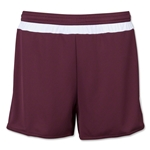 adidas Women's MLS 15 Match Short (Maroon/Wht)