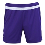 adidas Women's MLS 15 Match Short (Pur/Wht)