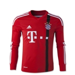 Bayern Munich 14/15 Youth LS Away Goalkeeper Jersey