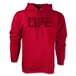 Rugby For Life LS Hoody (Red)