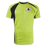 Japan Gambeta Soccer Jersey (Neon Yellow)