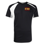 Spain Gambeta Soccer Jersey (Black)