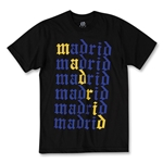 Objectivo Real Madrid Stacked Soccer T-Shirt