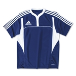 adidas Three Stripe II Rugby Jersey (Navy/White)