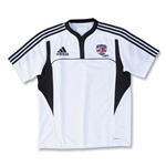 adidas USA Sevens Three Stripe II Rugby Jersey (White/Black)