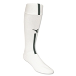 Diadora Azzurri Soccer Socks (White/Dark Green)