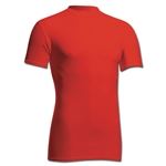 Power-Tek Compression Crew Neck (Red)