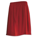 Power-Tek Competitor Basic Lacrosse Shorts (Red)