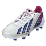 adidas F50 adizero TRX FG Women's Leather (Running White/Hero Ink/Blaze Pink)